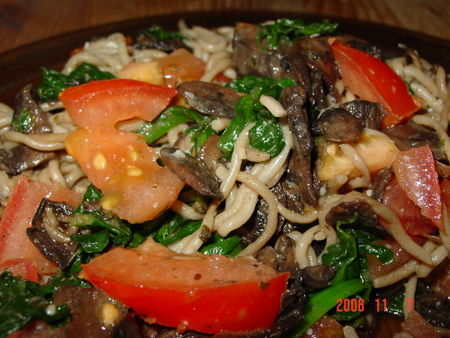 Shiratak Noodles Stir Fry