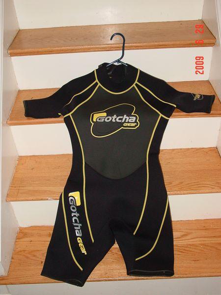 Second wetsuit