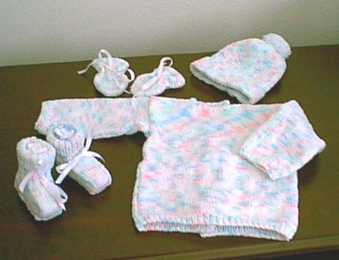 Peppermint Baby Set