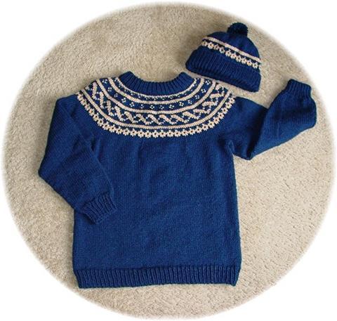 Fairisle Sweater and Toque