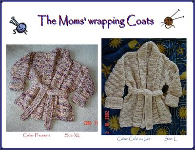 Wrap Coats for my Moms