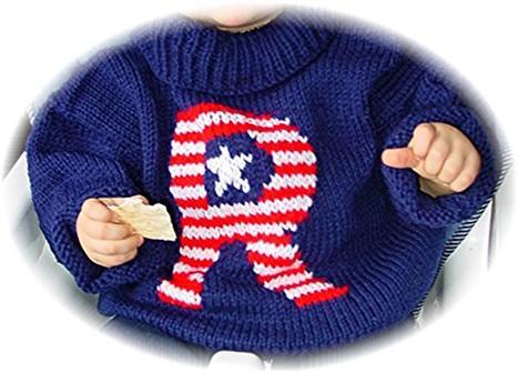 """R"" Sweater"