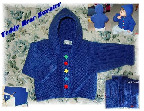 Babies & Bear Sweater