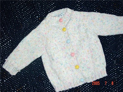 Top Down Baby Raglan Sweater