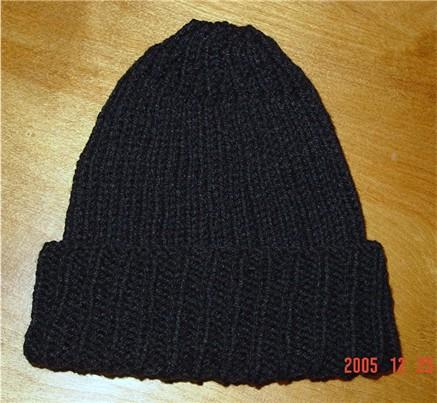 Hubby's Black Hat