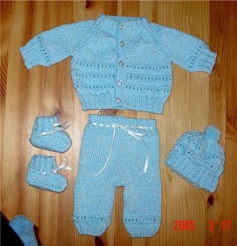 Blue Baby Set