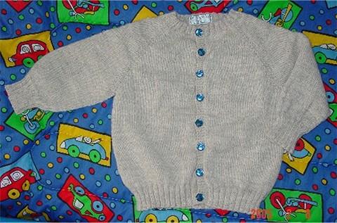 Top Down Raglan Sweater
