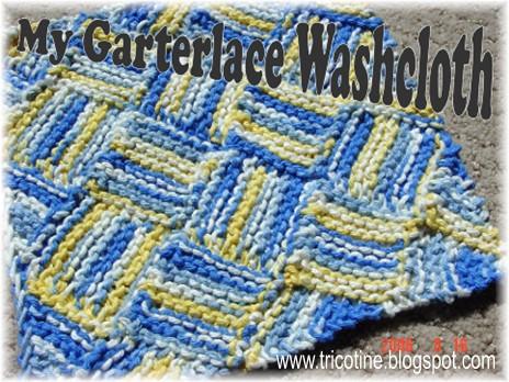 Garterlac Washcloth