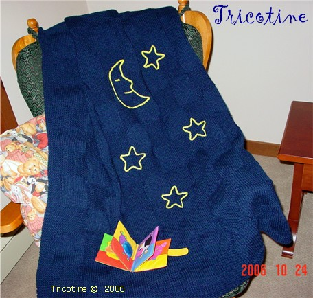 Baby Star Crib Blanket