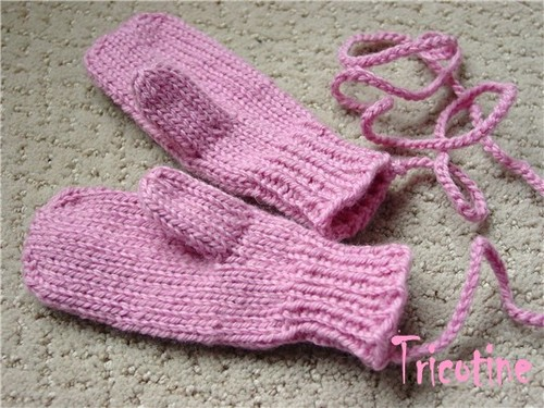 Top-Down Mittens for Kids