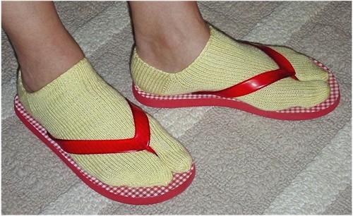Summer Geisha Socks