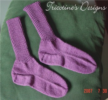 <i>Purple Little</i> Socks