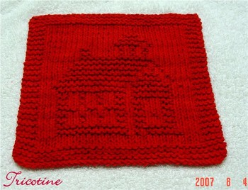 Melissa's Little Red Schoolhouse Cloth