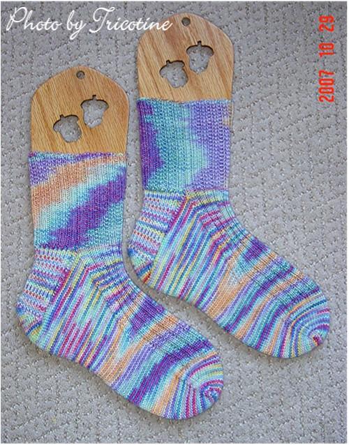 High Insteap Ribbed Socks