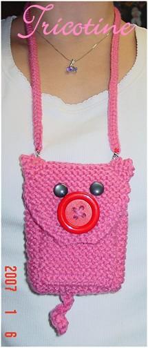 Piggy Cell Phone Cozie