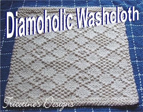 Diamoholic Washcloth
