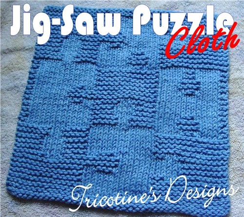 Jig-Saw Puzzle Cloth